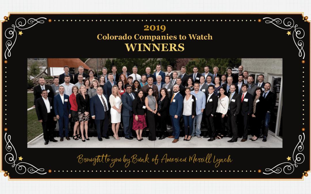 Colorado Companies to Watch 2019 Winner